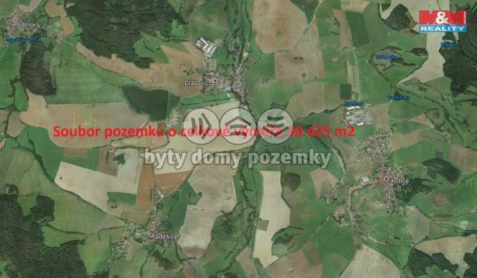 Prodej, Pole, 40425 m², Dražovice