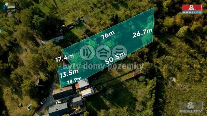 Prodej, Pozemek k bydlení, 1836 m², Napajedla, Zámoraví