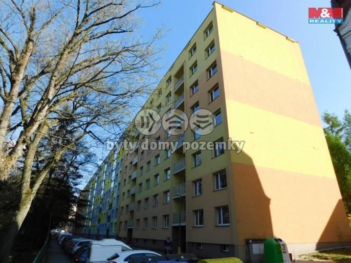 Pronájem, Byt 1+1, 36 m², Jablonec nad Nisou, Sadová