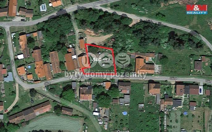Prodej, Stavební parcela, 840 m², Líšina