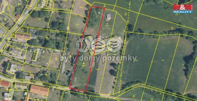 Prodej, Stavební parcela, 2186 m², Tužice