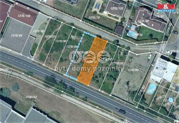 Prodej, Pozemek k bydlení, 627 m², Roudnice nad Labem
