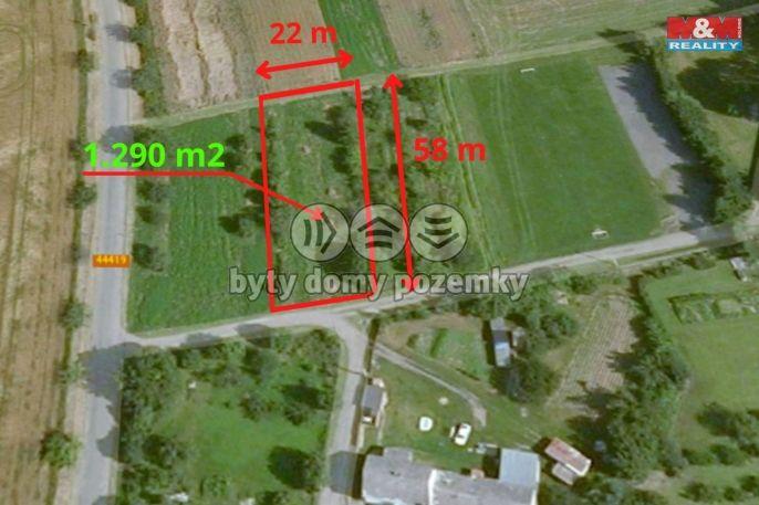 Prodej, Pozemek k bydlení, 1290 m², Újezd