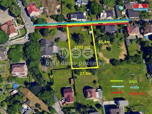 Prodej, Pozemek k bydlení, 1502 m², Ostrava