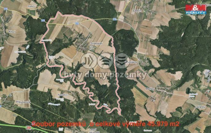 Prodej, Pole, 45979 m², Svatoslav
