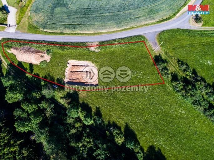 Prodej, Stavební parcela, 2307 m², Bezděkov