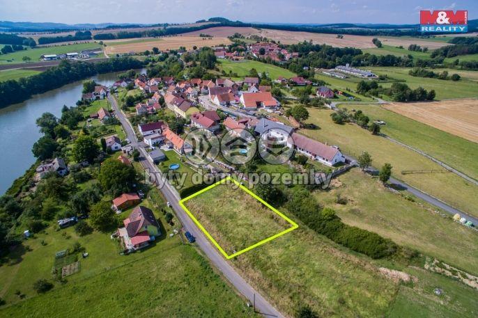Prodej, Pozemek k bydlení, 1241 m², Krty-Hradec