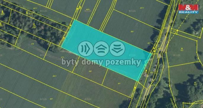 Prodej, Pole, 6282 m², Bolešiny