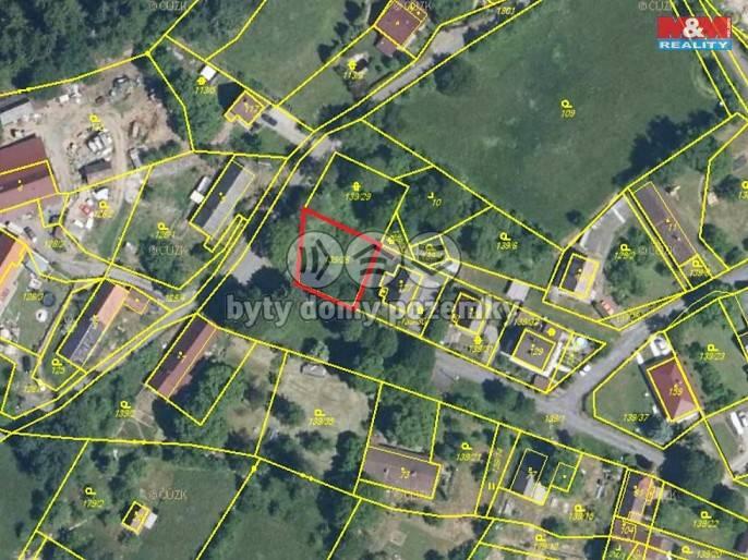 Prodej, Stavební parcela, 355 m², Nalžovské Hory