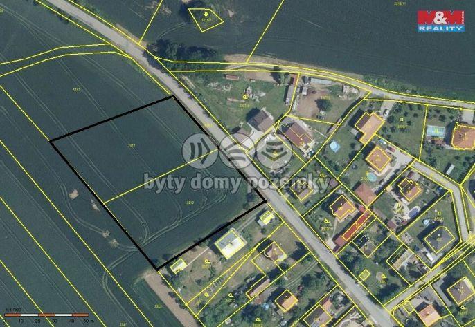 Prodej, Pozemek k bydlení, 6644 m², Týnec nad Sázavou