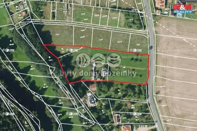 Prodej, Stavební parcela, 7024 m², Štěnovice, Čižická