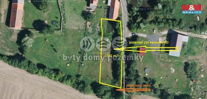 Prodej, Pozemek k bydlení, 1551 m², Libčeves