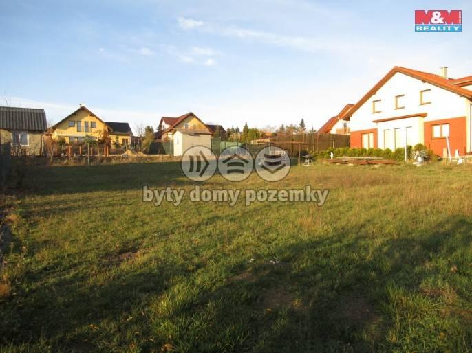 Prodej, Stavební parcela, 770 m², Dobříč