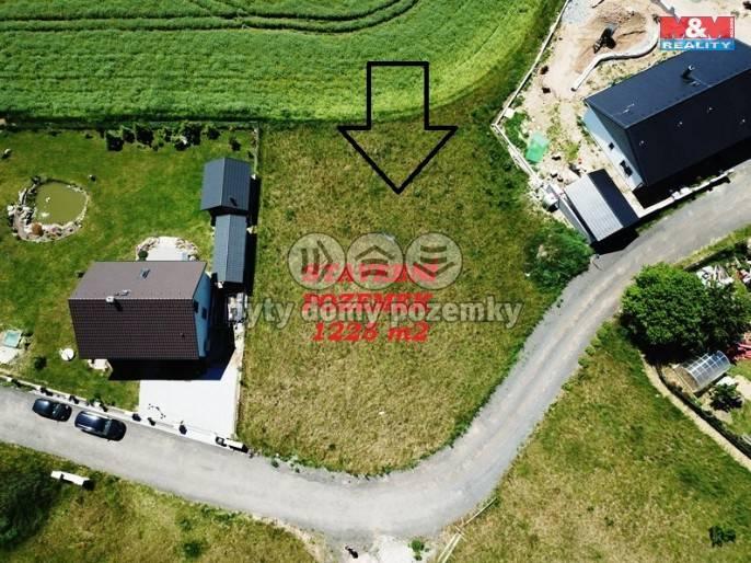 Prodej, Stavební parcela, 1225 m², Háje