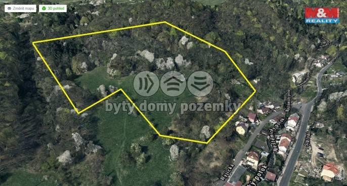 Pozemek pro bydlení na prodej, Ústí nad Labem (Neštěmice)