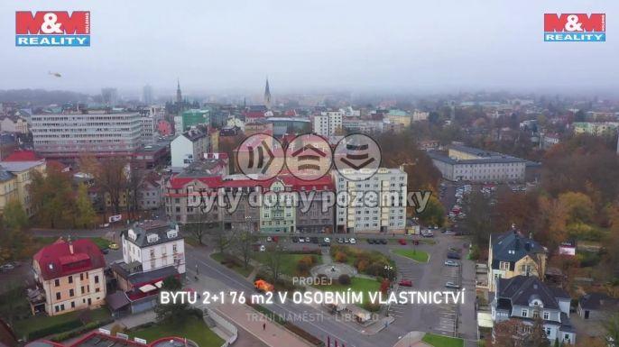 Prodej bytu 2+1, 84 m², Liberec, nám. Tržní