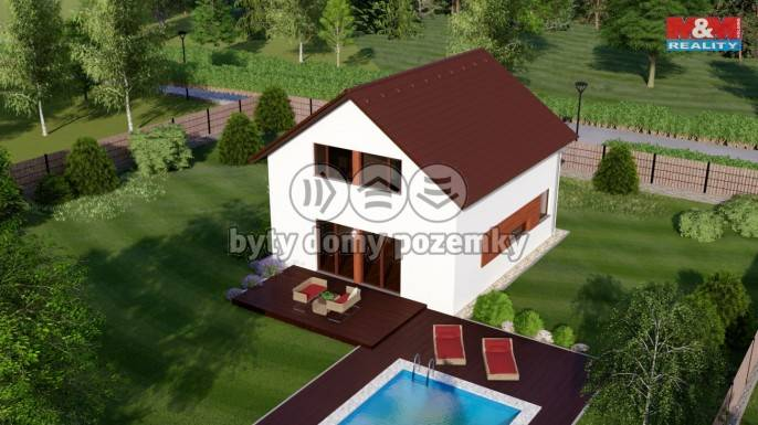 Prodej, rodinný dům 5+kk, 117 m2, Malesice