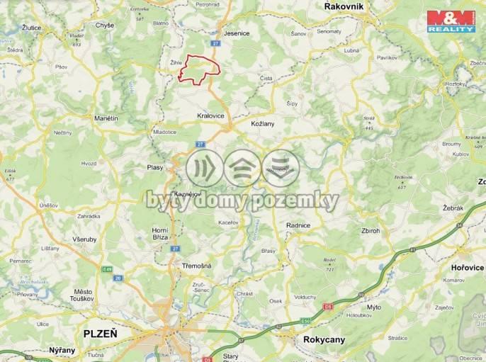 Prodej, Les, 56333 m², Jesenice
