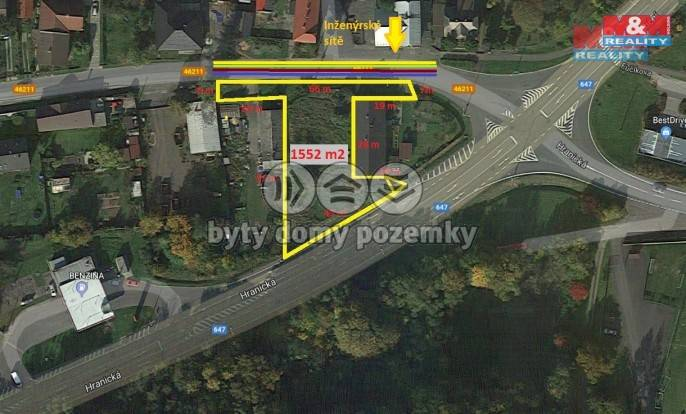 Pozemek pro bydlení na prodej, Fulnek (Jerlochovice)