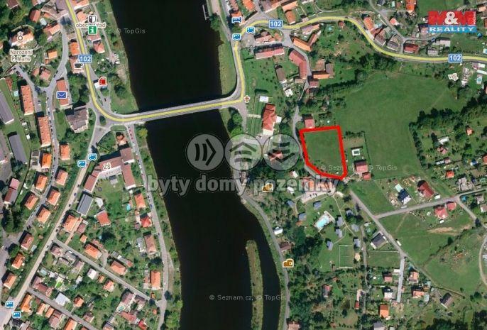 Prodej, Pozemek k bydlení, 2427 m², Kamýk nad Vltavou