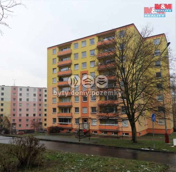 Pronájem, Byt 1+kk, 31 m², Ústí nad Labem, Na Sklípku