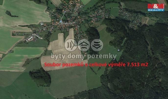 Prodej, Pole, 7513 m², Zvánovice