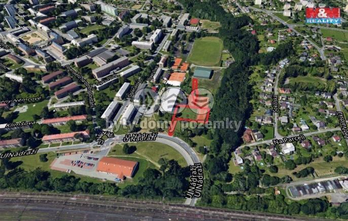 Prodej, komerční pozemky, 2.661 m2, Havířov, ul. U Nádraží