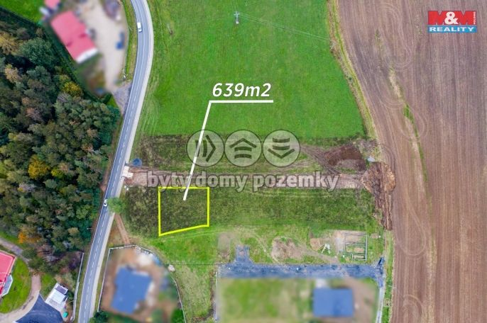 Prodej, Pozemek k bydlení, 639 m², Břasy