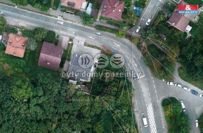 Prodej, stavební parcela 505 m2, Praha 4, ul. Pod