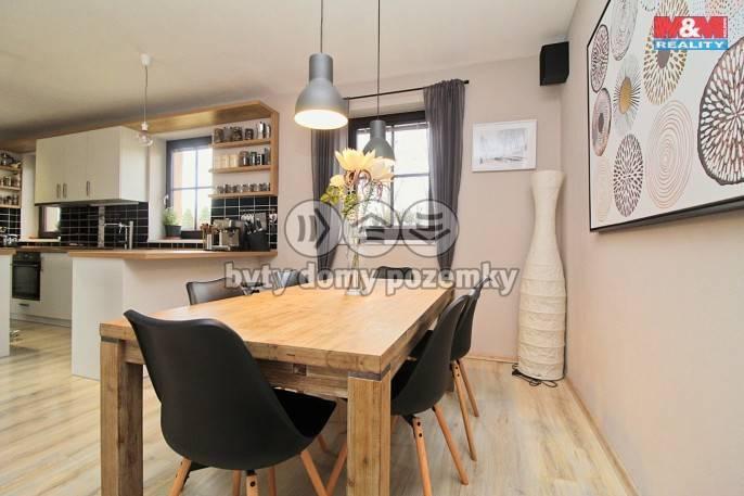 Prodej, novostavba rodinný dům 4+kk, 880m2 Kyšice, ul. Náves
