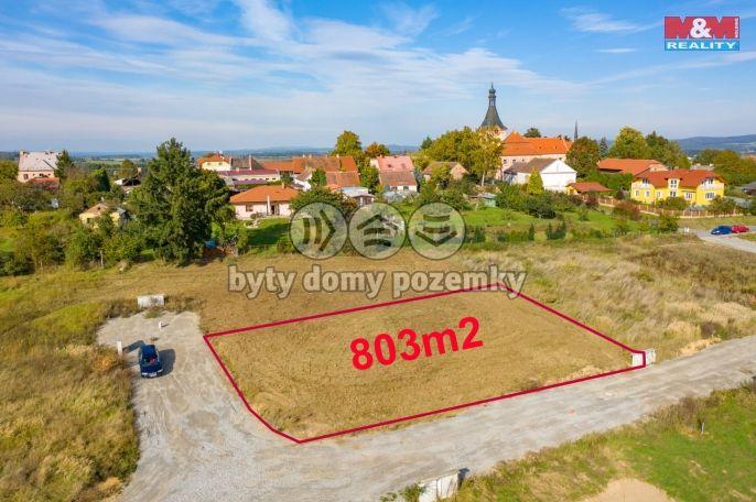 Prodej, Pozemek k bydlení, 803 m², Záhoří