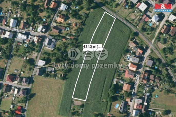 Prodej, pozemek k bydlení, 4140 m², Studénka, ul.