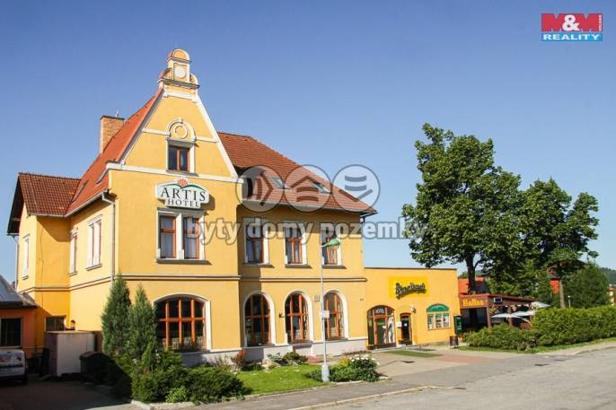 Prodej, Hotel, penzion, 1697 m², Nové Město na Moravě