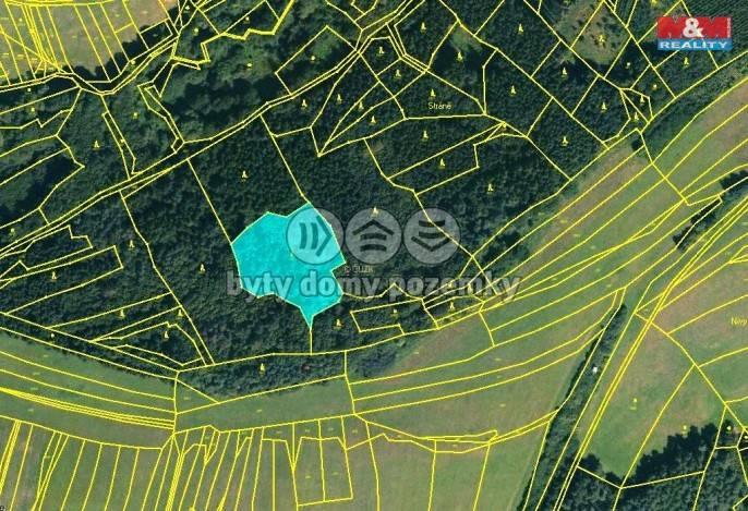 Prodej, Les, 2240 m², Drnovice