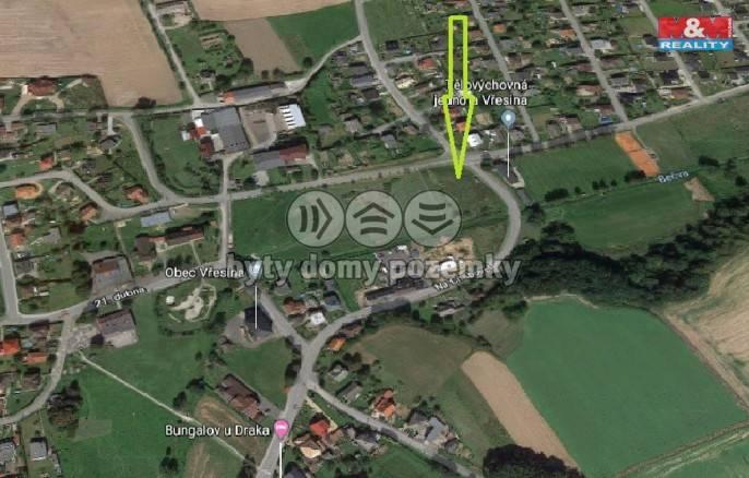 Prodej, pozemek, 4407 m2, Vřesina u Hlučína