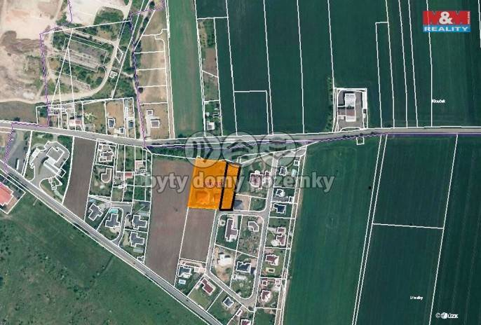 Prodej, Stavební parcela, 1400 m², Žatec