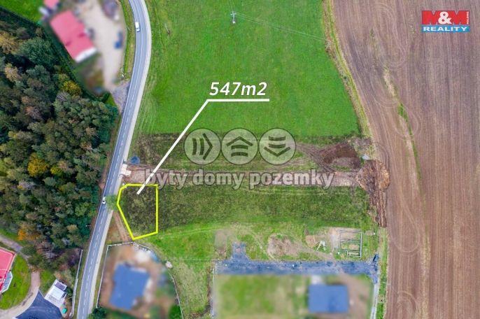 Prodej, Pozemek k bydlení, 547 m², Břasy