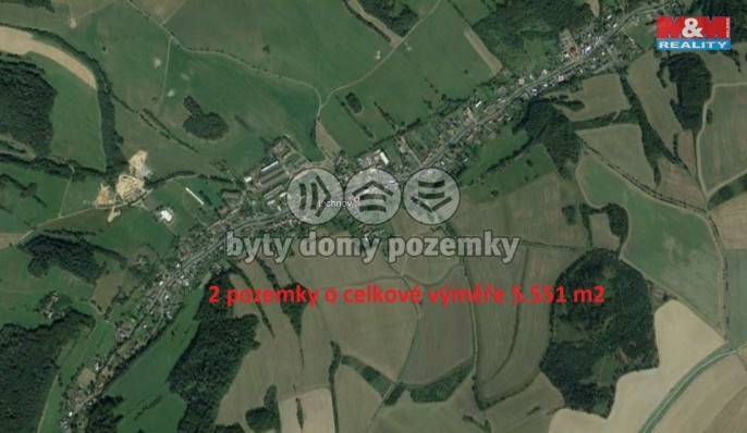 Prodej, Louka, 5551 m², Lichnov