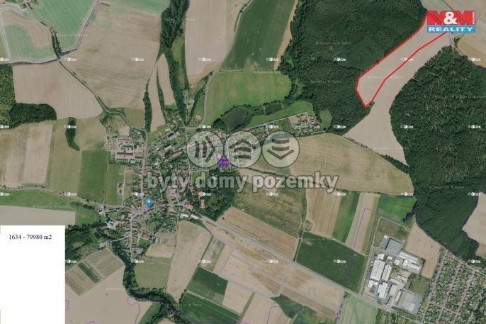 Prodej, Pole, 79980 m², Plzeň