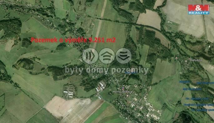 Prodej, Louka, 9251 m², Horní Libchava