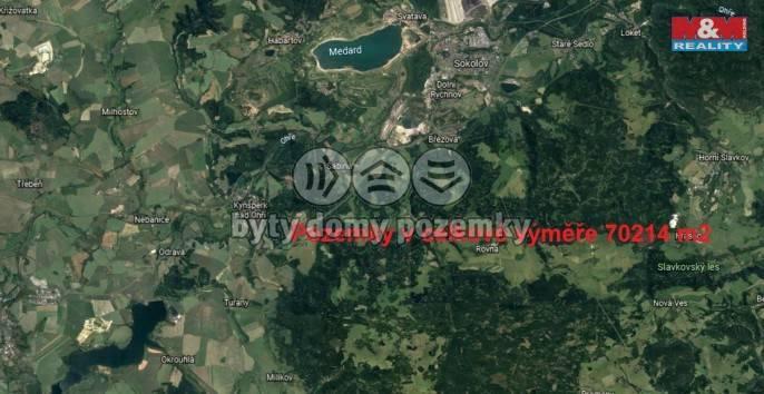 Prodej, Louka, 70214 m², Březová