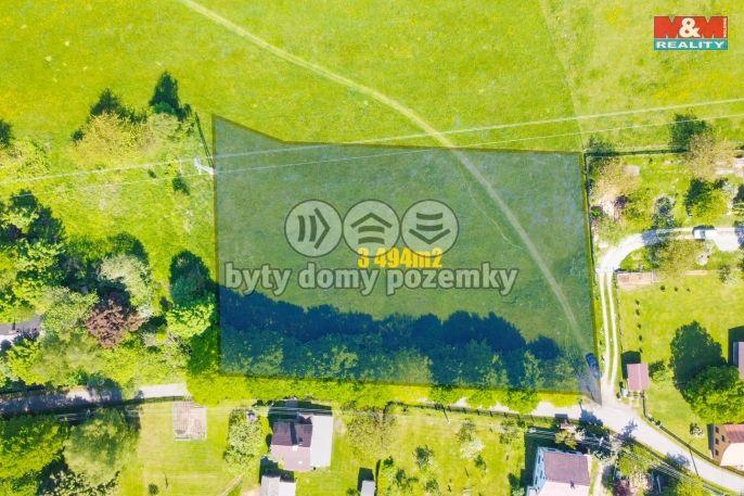 Prodej, Pozemek k bydlení, 3494 m², Nový Oldřichov