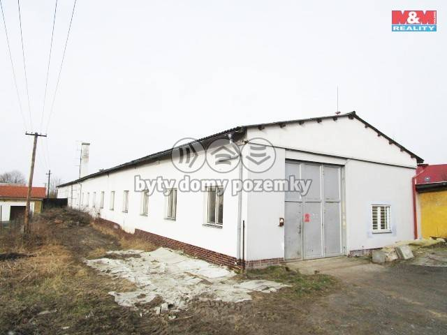 Prodej, Výrobní objekt, 1178 m², Třebeň