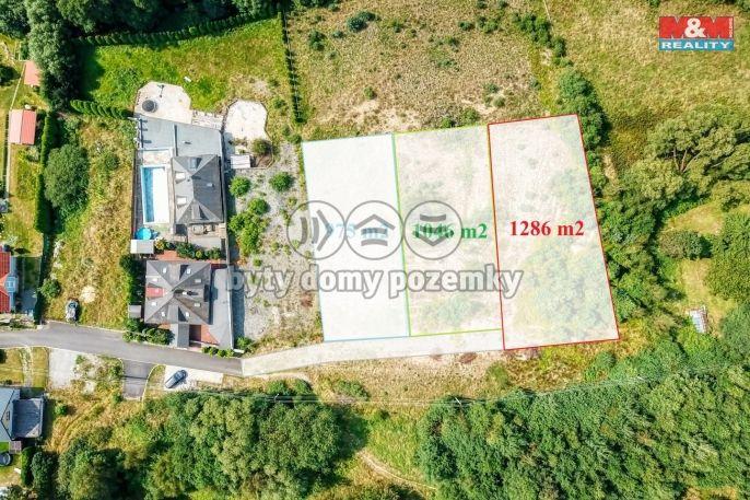 Prodej, Pozemek k bydlení, 1046 m², Valy, V Lukách