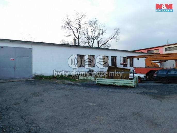 Prodej, Výrobní objekt, 1627 m², Kladno, manž. Topinkových