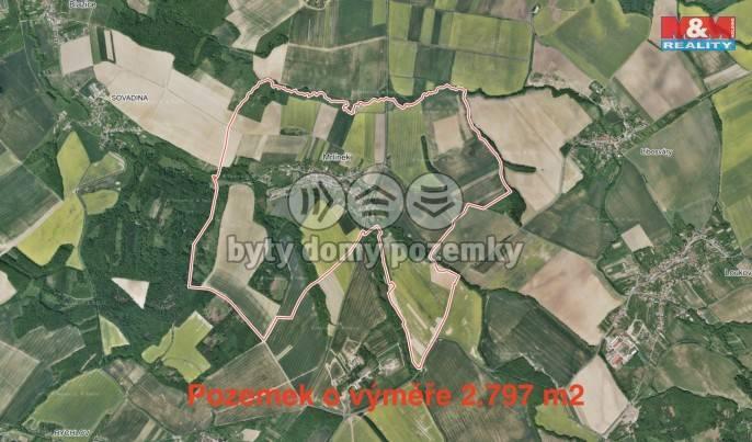 Prodej, Pole, 2797 m², Mrlínek