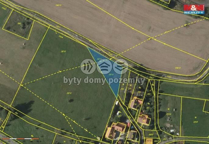 Prodej, pozemek, 1166 m2, Odry - Pohoř
