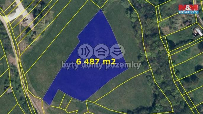 Prodej, Louka, 6487 m², Kostelany