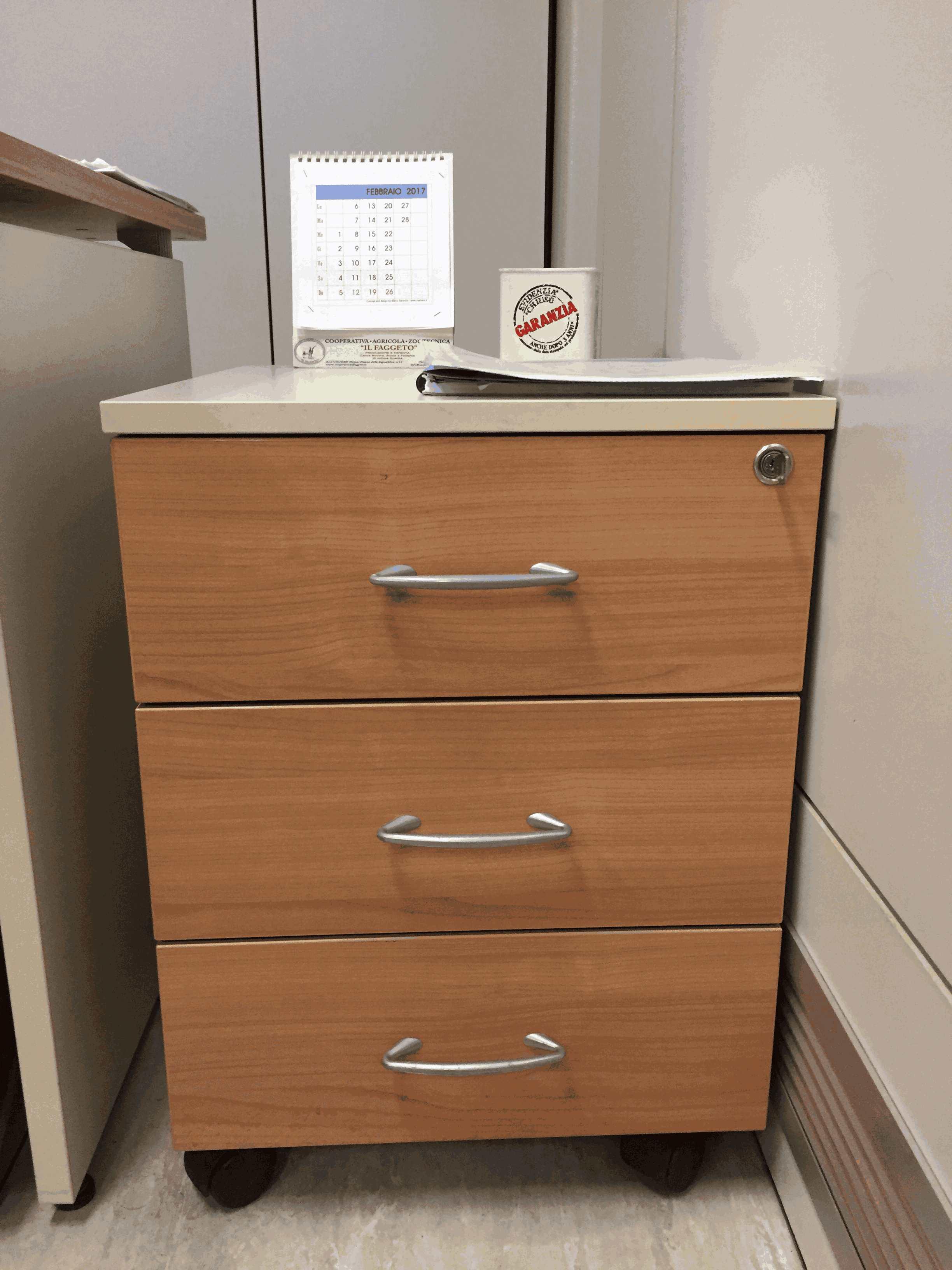 Cassettiere ufficio amazing cassettiere ufficio su ruote - Cassettiere ufficio ...