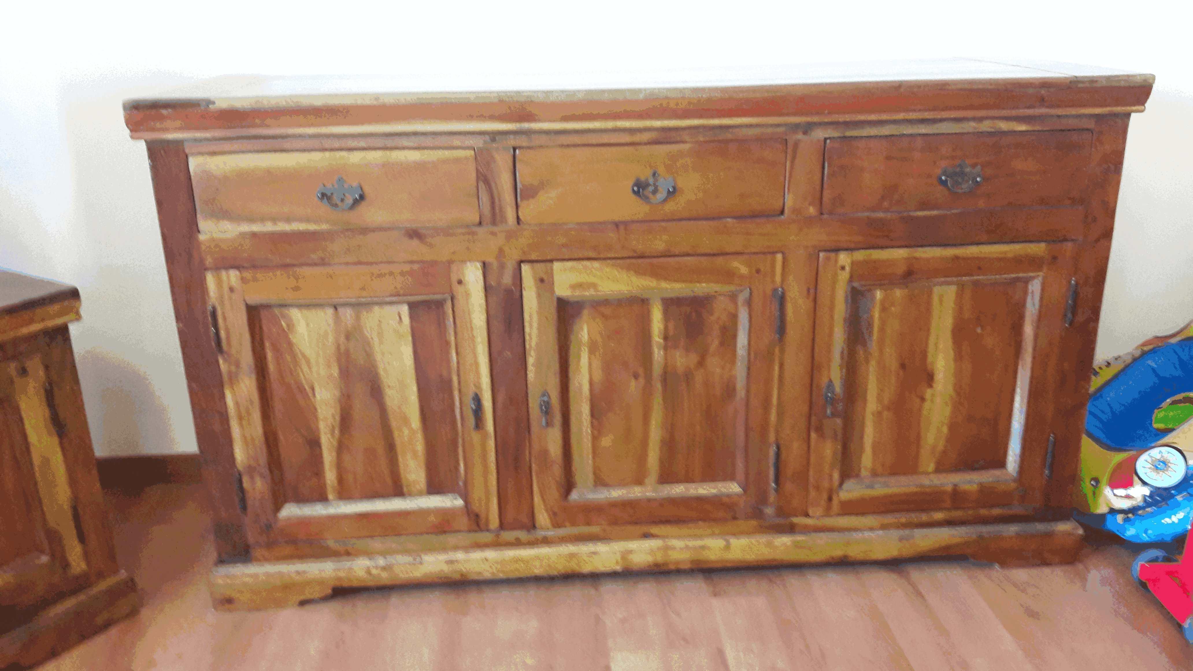 Credenza Da Incasso : Credenza in legno rustico astemobili